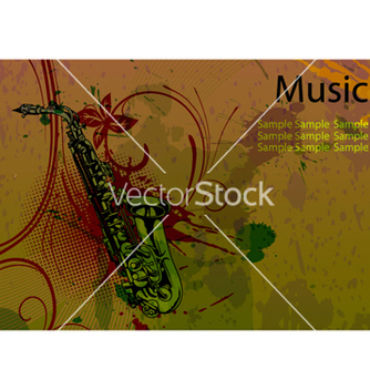 Free music background vector - vector gratuit #262867