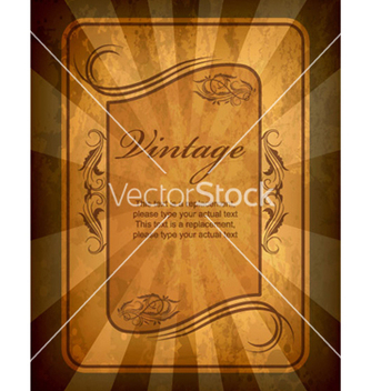 Free vintage label vector - Kostenloses vector #263507