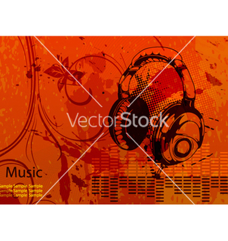 Free music background vector - vector gratuit #263617
