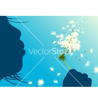 Free dandelion vector - vector gratuit #263707