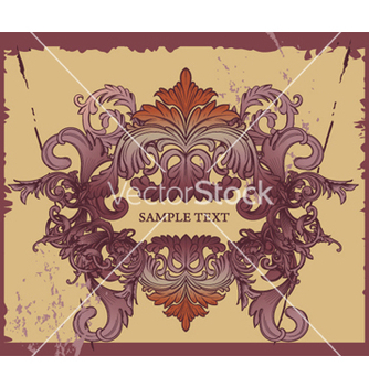 Free grunge decorative label vector - Free vector #263967