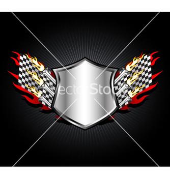 Free racing emblem vector - Free vector #264137
