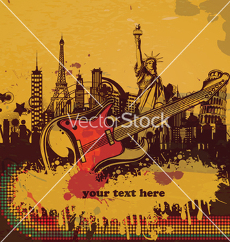 Free music poster vector - Free vector #264157