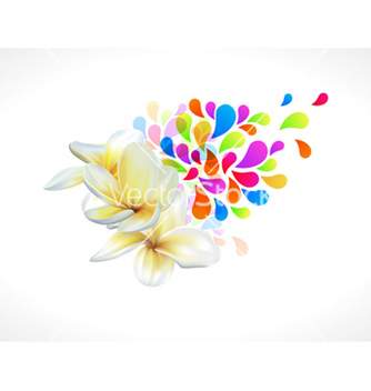 Free colorful floral vector - Free vector #264507