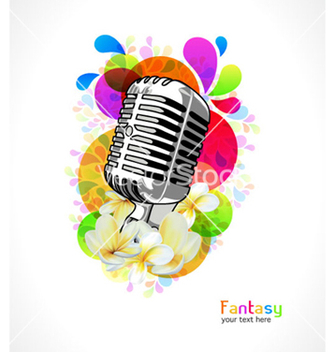 Free colorful concert poster vector - Free vector #265217