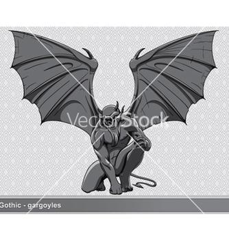 Free gothic gargoyle vector - Free vector #265727