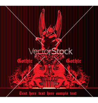 Free gothic emblem vector - Free vector #265777