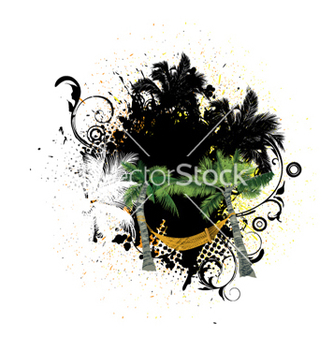 Free grunge summer vector - Free vector #265797