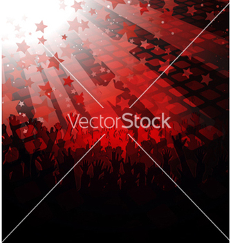Free music poster vector - Free vector #266027