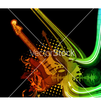 Free colorful concert poster vector - Free vector #266307