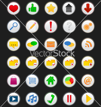Free web icons vector - Free vector #266897
