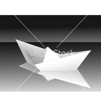 Free paper ship vector - Free vector #267027