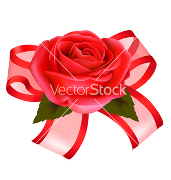 Free rose with gift vector - Kostenloses vector #267127