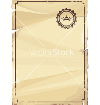 Free grungy parchment vector - Free vector #267337