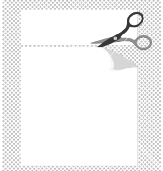 Free cut corners vector - Free vector #267887