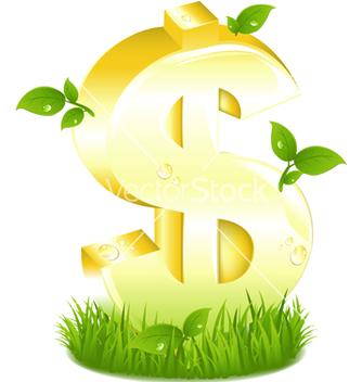 Free dollar symbol vector - Kostenloses vector #267987