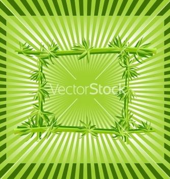 Free bamboo frame vector - Kostenloses vector #267997