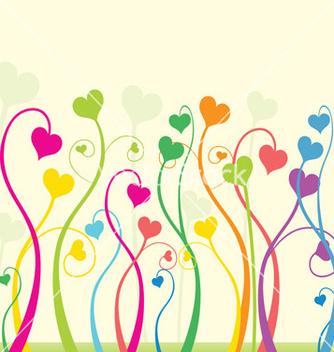 Free floral love vector - vector gratuit(e) #268047