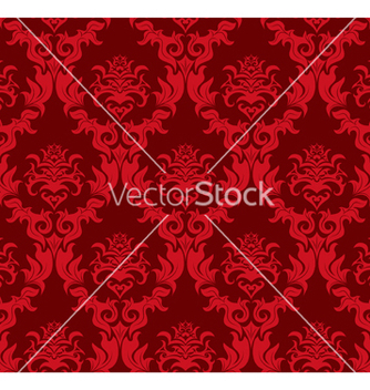Free damask pattern vector - Free vector #268057