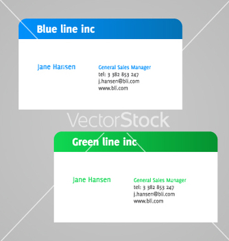 Free minimalistic visit card vector - Free vector #268067