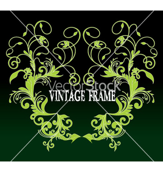 Free vintage frame vector - Free vector #268277