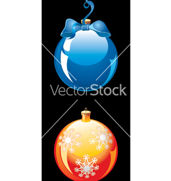 Free christmas balls vector - бесплатный vector #268357