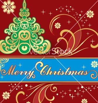 Free christmas tree vector - vector #268407 gratis