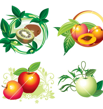 Free fruit designs vector - Free vector #268477