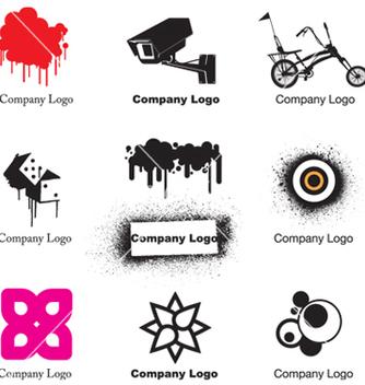 Free urban logos vector - Kostenloses vector #268667