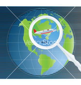 Free travel background vector - vector #268787 gratis