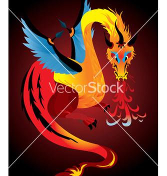 Free dragon vector - Free vector #268917