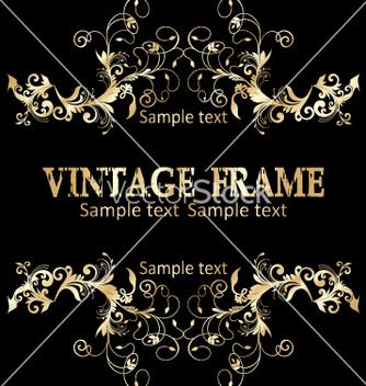 Free vintage frame vector - Free vector #268937