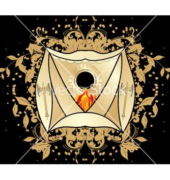 Free heraldic blazon vector - Free vector #269017