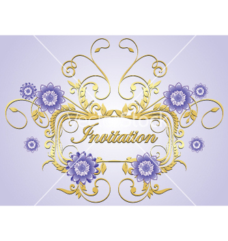 Free invitation vector - Free vector #269187