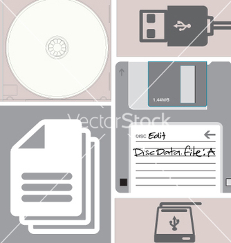 Free data storage vector - Kostenloses vector #269507