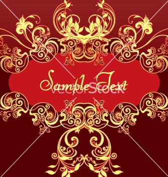 Free golden frame vector - Free vector #269677