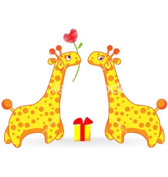 Free giraffe vector - Free vector #269867