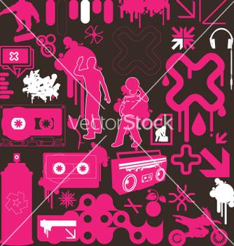Free graphic funk neon vector - Kostenloses vector #270207