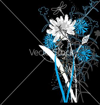 Free wild flowers vector - Kostenloses vector #270267