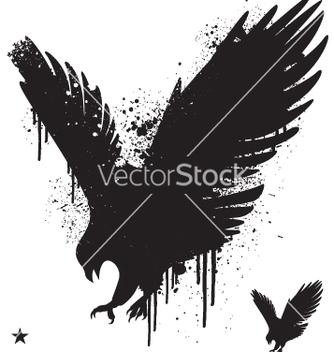 Free stencil hawk vector - Free vector #270277