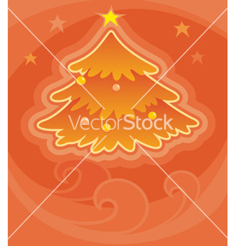 Free christmas tree vector - Free vector #270297