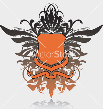 Free heraldry shield vector - vector gratuit #270397