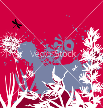 Free grunge landscape vector - Free vector #270737