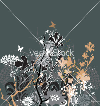 Free twilight in my garden vector - бесплатный vector #270807