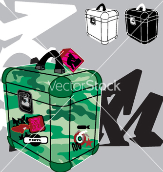 Free record box vector - бесплатный vector #270857