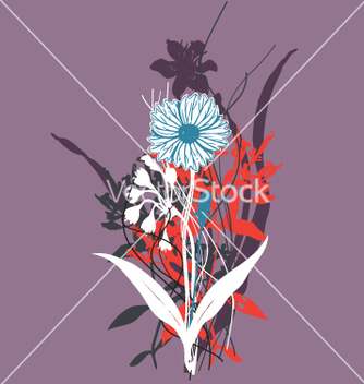 Free wild flowers vector - Free vector #270977