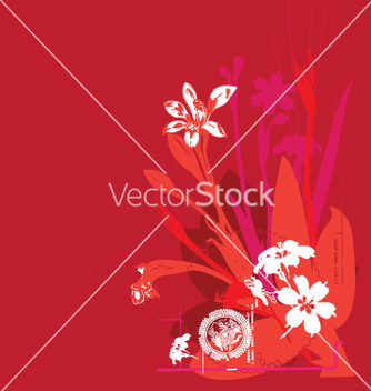 Free oriental flower vector - Kostenloses vector #271147
