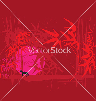 Free neon jungle vector - Free vector #271167