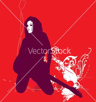 Free i love rocknroll vector - Free vector #271277