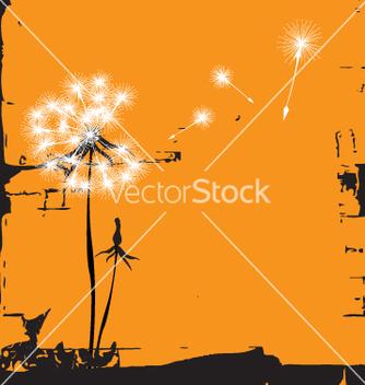 Free dandelion vector - vector gratuit #271447